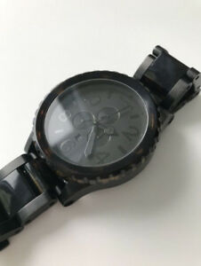 Montre/Watch Nixon 51-30 Chrono - Matte Black/Dark Tortoise