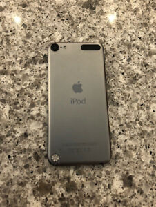 Grey iPod touch