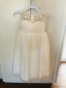 Brand New, Special Occasion Dress - Ivory,  Size 6