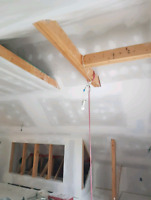 Drywall boarder and taper for hire.