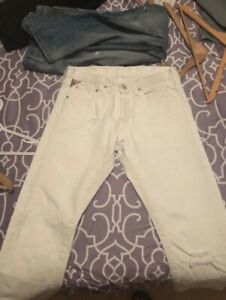 Ralph Lauren Polo Designer Denim & Supply White Jeans *90% off*