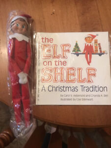 Elf on the Shelf + Book !! IN STOCK !! PICK UP IN SCARBOROUGH