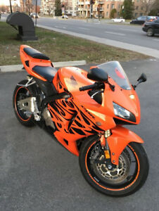 BIJOU Honda CBR 600RR Orange Tribal 2006 15 500km