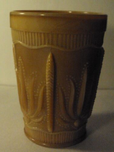 Cactus pattern tumbler chocolate slag glass summit st cloud