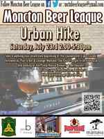 Moncton Beer League Urban Hike