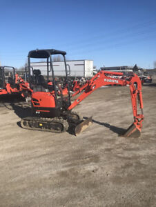 Mini Excavator! Perfect for jobs in tight spaces!