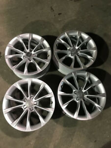 "Audi b9 A5 —- 18"" GENUINE OEM AUDI WHEELS"