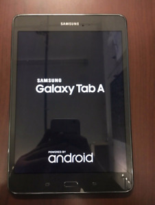 Beautiful large screen 2017 Samsung Galaxy tablet
