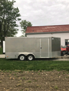 20 foot 2005 Pace American cargo trailer