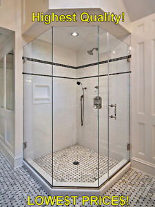 Luxurious Glass Shower Door with Hinges and Handles - New! Regina Regina Area image 5