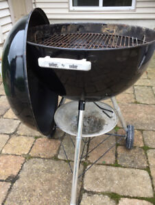 Weber, authentic Charcoal Kettle BBQ