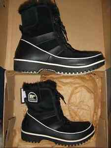 SOREL TIVOLI BOOTS WOMEN'S SIZE 7 BLACK NEW IN BOX