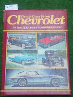 Chevrolet Table Book