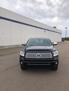 2017 Toyota Tundra Platinum Buyout or lease take over