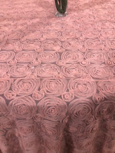 Round Rosette Table Cover - Table Cloth - Event Decor - 10% off
