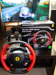 Thrustmaster Racing Wheel Ferrari 458 Spider Edition (XBOX One)