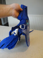 Like New Infantino Baby Carrier - Baby Rider 2 Tone Blue Pattern