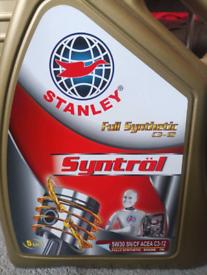 Stanley Fully synthetic motor oil 5w/30