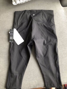 BRAND NEW WITH TAGS LULULEMON TRAIN TIMES CROP, CAN DELIVER