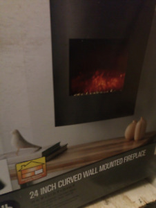 Wall Mounted Electric Fireplace (Trade for AC)