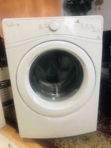 Whirlpool front load stackable dryer can deliver for sale