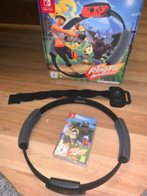 Nintendo switch ring fit adventure