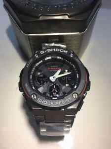 G shock gsts100d red