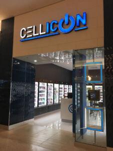 PHONE REPAIR, UNLOCKING & ACCESSORIES @ CELLICON @ Cornwall Cent