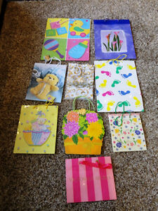 Assortment of 9 Gift bags for sale ....all for $3.00