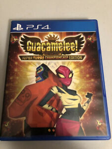 Limited Print - Guacamelee Turbo Edition PS4