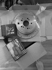 Honda pilot / Ridgeline  Full brake and rotor kit