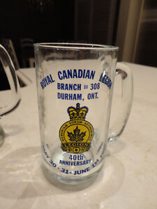 2 Vintage Glass Steins and A Petro Canada Vintage Whiskey Glass Kitchener / Waterloo Kitchener Area image 4