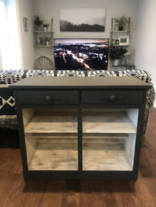 Antique Sideboard/Cupboard/TV Console - Refinished!
