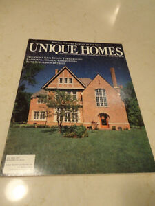 Vintage 1987 Unique Homes -The Magazine of Luxury Real Estate Kitchener / Waterloo Kitchener Area image 1