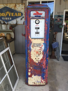 **WANTED** YOUR OLD GAS PUMP