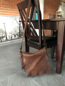 Roots Genuine Leather Satchel