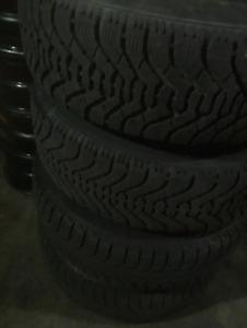 Winter tires 215 70 r15 set of 4