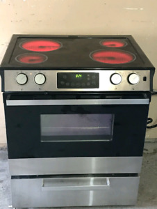 Can deliver/ikea stainless steel slide in stove like new
