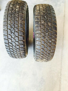 2 winter tires 175/65R14  not on rims