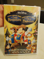 The Three Musketeers Walt Disney DVD in Excellent Shape