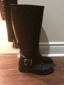 Zara leather riding boots - Size 37