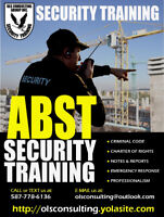 ABST - Security Training !
