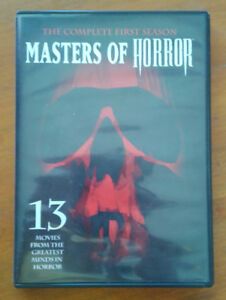 Masters of Horror 4 DVD set