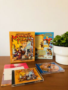 ESCAPE FROM MONKEY ISLAND / PC Game Big box