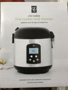 Rice cooker and steamer $25
