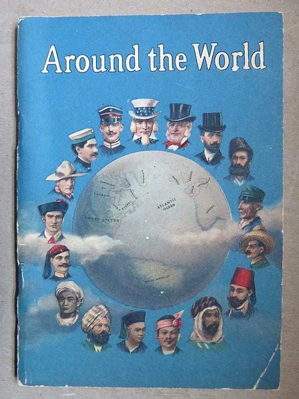AROUND THE WORLD - NATIONAL CASH REGISTER CO. PROMOTIONAL BOOKLET - 1912-VG COND