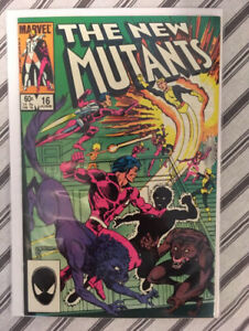 New Mutants #16! First appearance of Warpath!