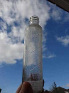 Set of 4 Vintage Bottles -Stork Baby Bottle, BC Distillery +more Kitchener / Waterloo Kitchener Area image 5