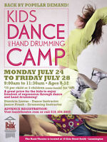 KIDS DANCE AND HAND DRUMMING CAMP