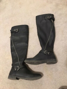 knee high boots - (size 8)